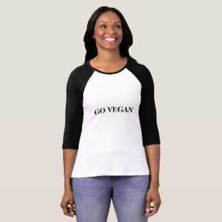 T-shirt Disparaissent le typo végétalien