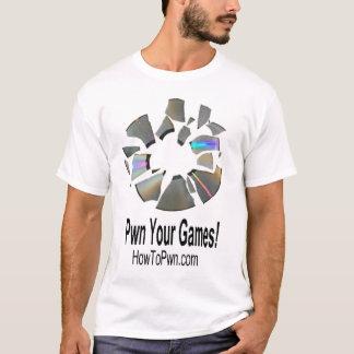 T-shirt Disque de Pwned
