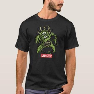 T-shirt Disques de monstre