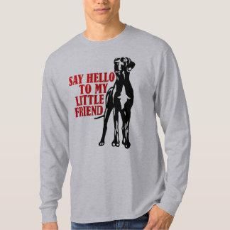 T-shirt Dites bonjour à mon petit ami