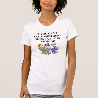 T-shirt dites-le dans Yiddish