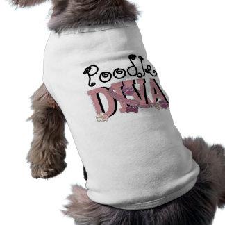 T-shirt DIVA de caniche
