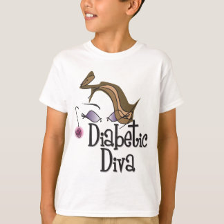 T-shirt Diva diabétique