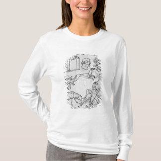 T-shirt Divers dessins de Mme Fr 19093 fol.18v