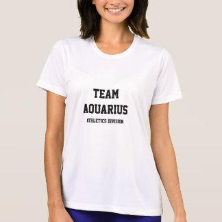 T-shirt Division d'athlétisme de Verseau d'équipe