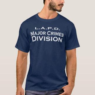 T-shirt Division-LAPD principale de crimes