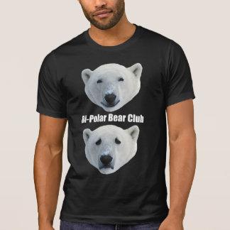 T-shirt d'obscurité de club d'ours blanc de Bi