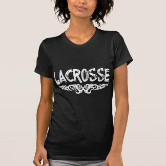 T-shirt d'obscurité de lacrosse