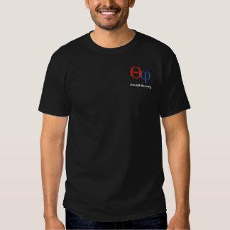 T-shirt d'obscurité de logo de theophiles.org