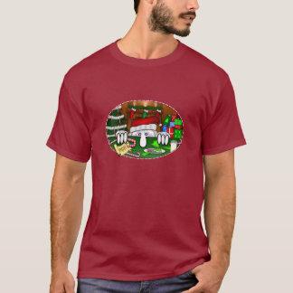 T-shirt d'obscurité de Père Noël Kilroy