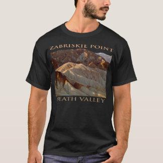 T-shirt d'obscurité de point de Zabriskie