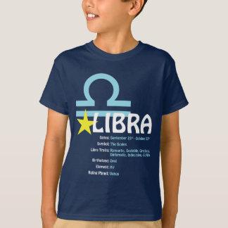 T-shirt d'obscurité d'enfants de traits de Balance