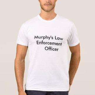 T-shirt d'officier de police de Murphy