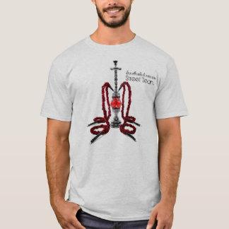 T-shirt Domaine de narguilé - customisé