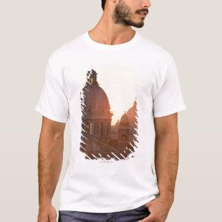 T-shirt Dômes d'église de Corso d'Al de San Carlo et de St