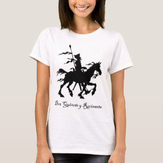 T-shirt Don don Quichotte monte encore