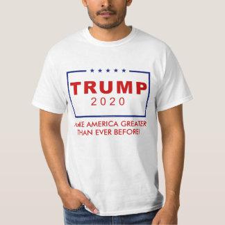 T-shirt Donald Trump 2020 rendent l'Amérique plus grande