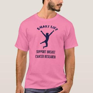 T-shirt Donation de recherche sur cancer du sein (avant)
