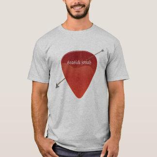 T-shirt d'onglet de guitare