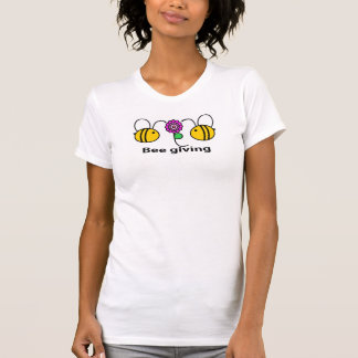 T-shirt Donner d'abeille