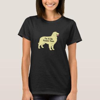 T-shirt d'or 2 d'années de golden retriever