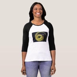 T-shirt d'or de collecteur de fonds de coeur