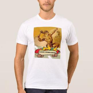 T-shirt d'original de Longboarding du danois