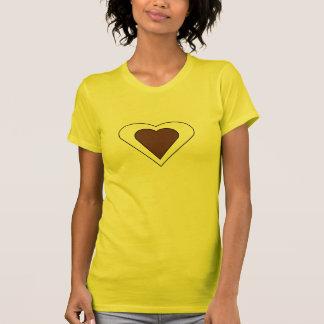 T-shirt Double coeur d'amour