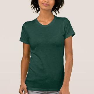 T-shirt Douille courte du Jersey d'amende du vert forêt