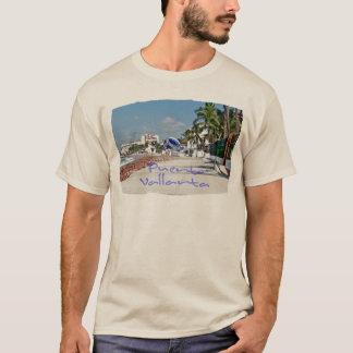 T-shirt Douille de base de Puerto Vallarta longue