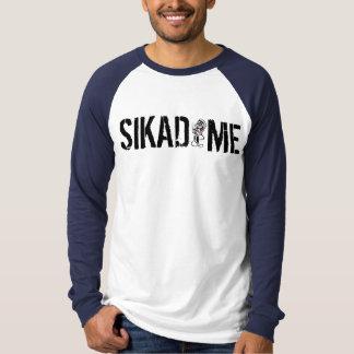 T-shirt Douille de logo de Sikadime longue