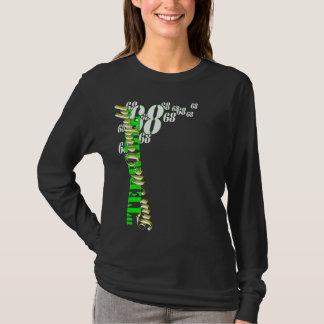 """T-shirt Douille des femmes """"de Tim terrible"""" la longue"""