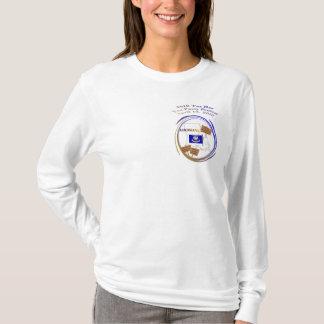 T-shirt Douille Hoody de thé de jour d'impôts de la