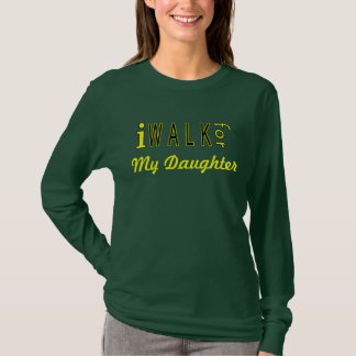 T-shirt Douille personnalisée de dames de charité longue