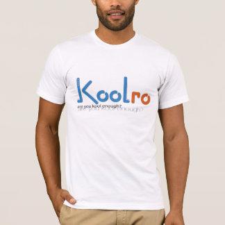 T-shirt Douille pure de KoolRo Twofer longue