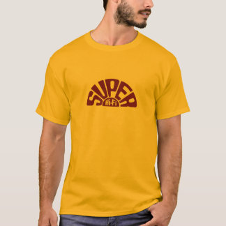 T-shirt Douille rouge de logo de SHF longue