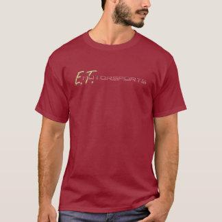 T-shirt Douille T (rouge foncé) de short du logo des