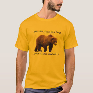 T-shirt d'ours