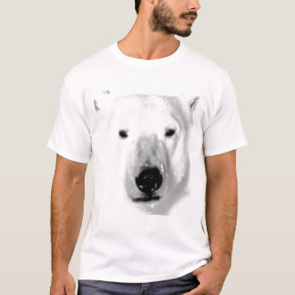 T-shirt d'ours blanc