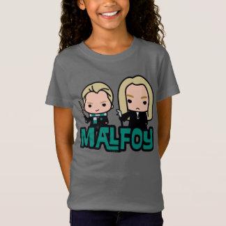 T-Shirt Draco de bande dessinée et art de caractère de