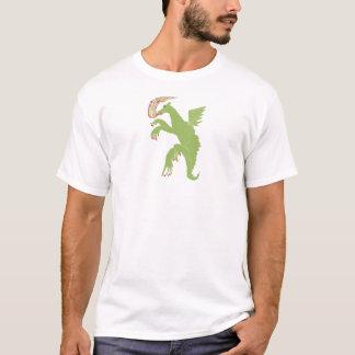 T-shirt Dragon avec un clou cassé