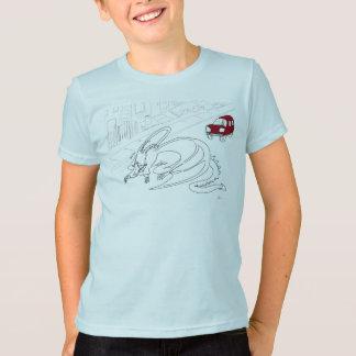 T-shirt Dragon de sommeil comique