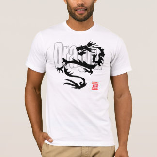 T-shirt Dragon tribal