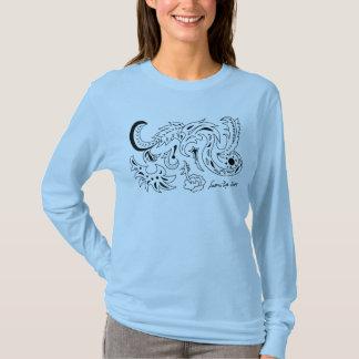T-shirt Dragons de mer et d'étoile