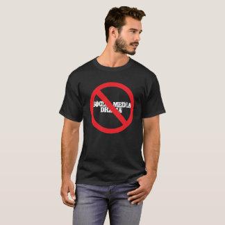 T-shirt Drame social de médias non permis