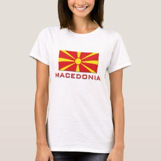 T-shirt Drapeau 1 de Macédoine
