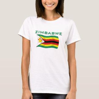 T-shirt Drapeau 2 du Zimbabwe