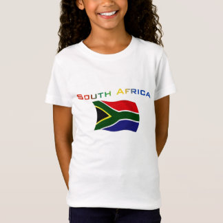 T-Shirt Drapeau 3 de l'Afrique du Sud