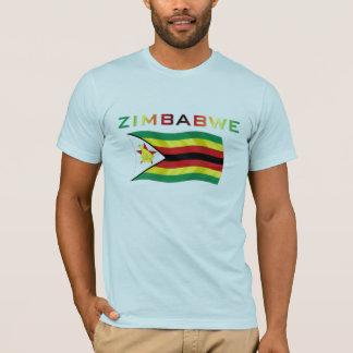 T-shirt Drapeau 3 du Zimbabwe