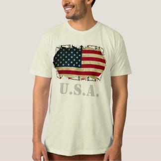 T-shirt drapeau américain Etats-Unis